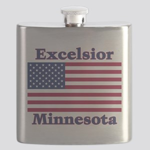 I Love Excelsior Flask