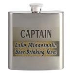 Lake Mtka Beer Flask