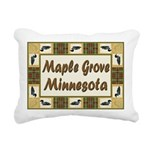 I Love Maple Grove Rectangular Canvas Pillow