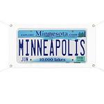 Minneapolis License Banner