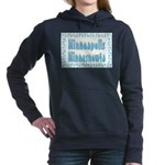 Minneapolis Minnesnowta Women's Hooded Sweatsh