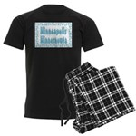 Minneapolis Minnesnowta Men's Dark Pajamas