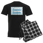 Minnetonka Minnesnowta Men's Dark Pajamas