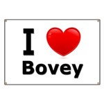 I Love Bovey Banner