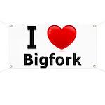 I Love Bigfork Banner