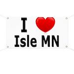 I Love Isle Banner
