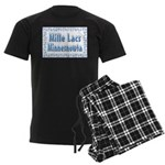 Mille Lacs Minnesnowta Men's Dark Pajamas