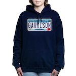 GarrisonMNLicensePlate Women's Hooded Sweatshi