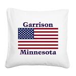 GarrisonFlag Square Canvas Pillow