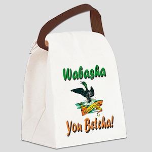WabashaMinnesotaLoon Canvas Lunch Bag