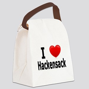 I Love Hackensack Canvas Lunch Bag