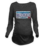 HackensackMNLicensePlate Long Sleeve Maternity