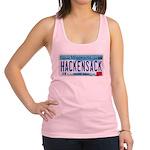 HackensackMNLicensePlate Racerback Tank Top
