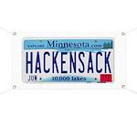 HackensackMNLicensePlate Banner