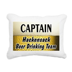 HackensackBigBeer Rectangular Canvas Pillow