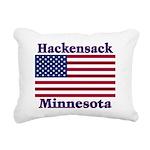 HackensackFlag Rectangular Canvas Pillow