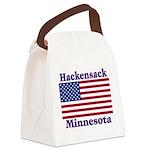 HackensackFlag Canvas Lunch Bag