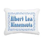 AlbertLeaMinnesnowta Rectangular Canvas Pillow