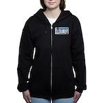 AlbertLeaMNLicensePlate Women's Zip Hoodie