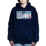 AlbertLeaMNLicensePlate Women's Hooded Sweatsh