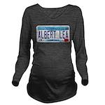 AlbertLeaMNLicensePlate Long Sleeve Maternity