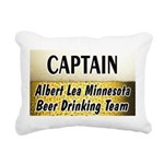 AlbertLeaBigBeer Rectangular Canvas Pillow