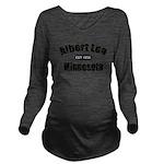 AlbertLeaEst Long Sleeve Maternity T-Shirt