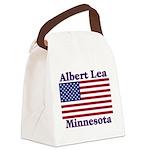 AlbertLeaFlag Canvas Lunch Bag