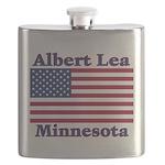 AlbertLeaFlag Flask