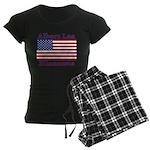 AlbertLeaFlag Women's Dark Pajamas
