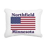 NorthfieldFlag Rectangular Canvas Pillow