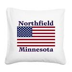 NorthfieldFlag Square Canvas Pillow