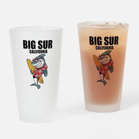 Big Sur, California Drinking Glass