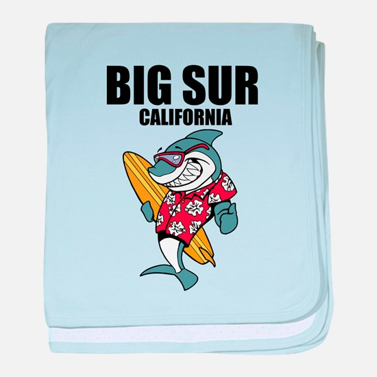 Big Sur, California baby blanket