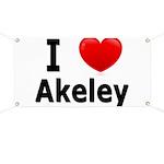 I Love Akeley Banner