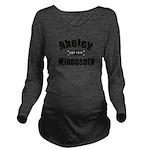 AkeleyEst Long Sleeve Maternity T-Shirt