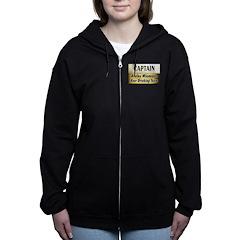 AkeleyBigBeer Women's Zip Hoodie