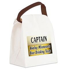 AkeleyBigBeer Canvas Lunch Bag