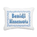 BemidjiMinnesnowta Rectangular Canvas Pillow