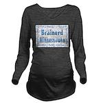 BrainerdMinnesnowta Long Sleeve Maternity T-Sh