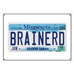 BrainerdLicensePlate Banner