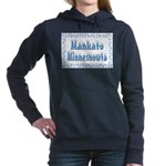 MankatoMinnesnowta Women's Hooded Sweatshirt