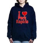 I Love Park Rapids Women's Hooded Sweatshirt