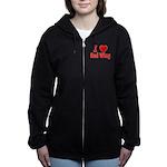 I Love Red Wing Women's Zip Hoodie