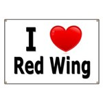 I Love Red Wing Banner
