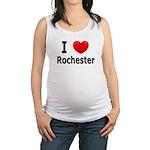 I Love Rochester Maternity Tank Top