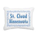 StCloudMinnesnowta Rectangular Canvas Pillow