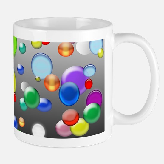 Colorful marbles and beads Mugs