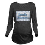 RosevilleMinnesnowta Long Sleeve Maternity T-S