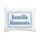 RosevilleMinnesnowta Rectangular Canvas Pillow